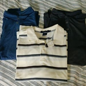 3 Polo Shirts Size XL